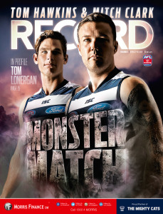 AFL Record covers for round 3, 2015