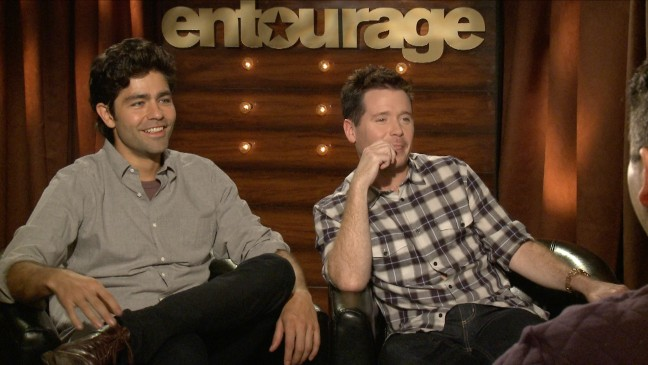 First Entourage guests