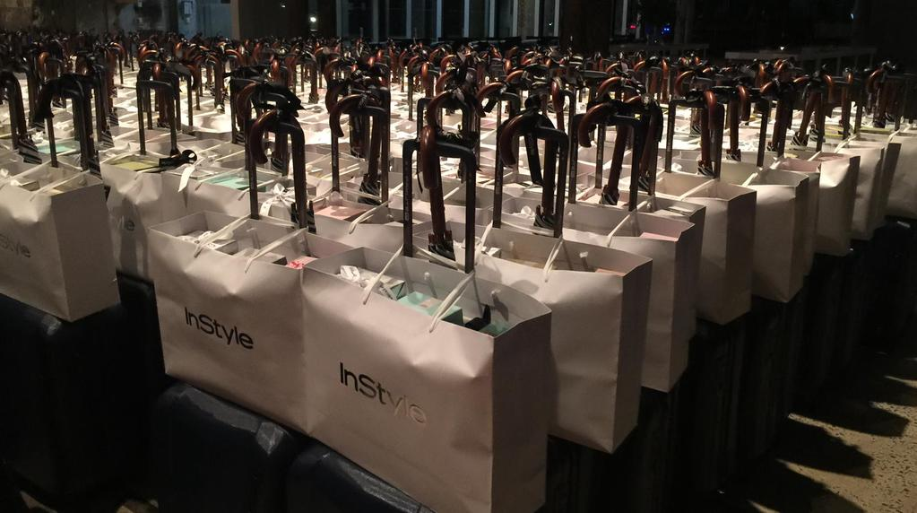 InStyle goodie bags