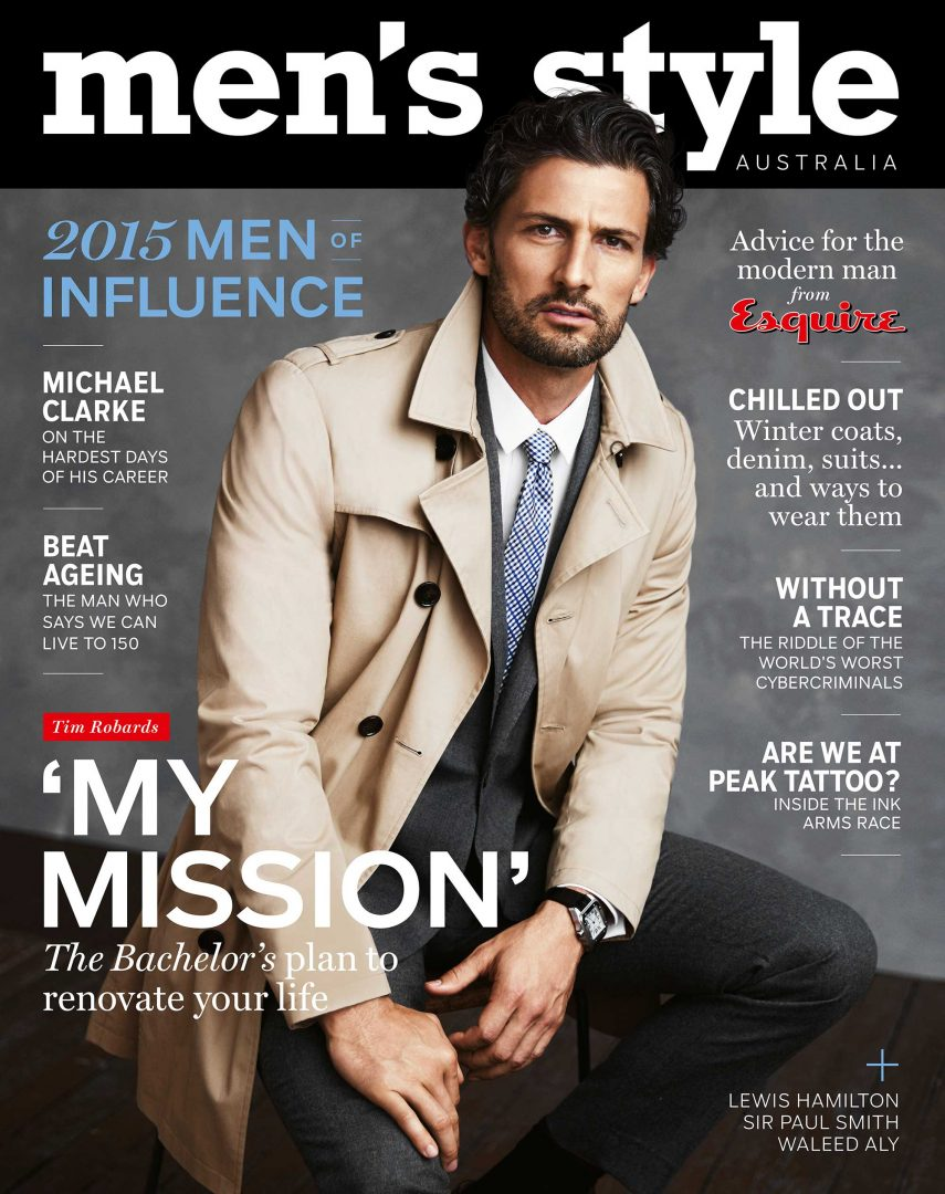 Men S Style Redesign Signaled By First Male Cover Star