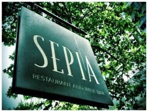 Sepia sign