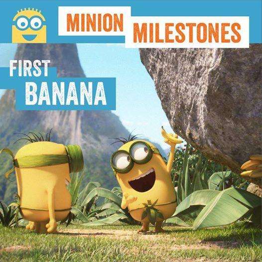 Minions and banana