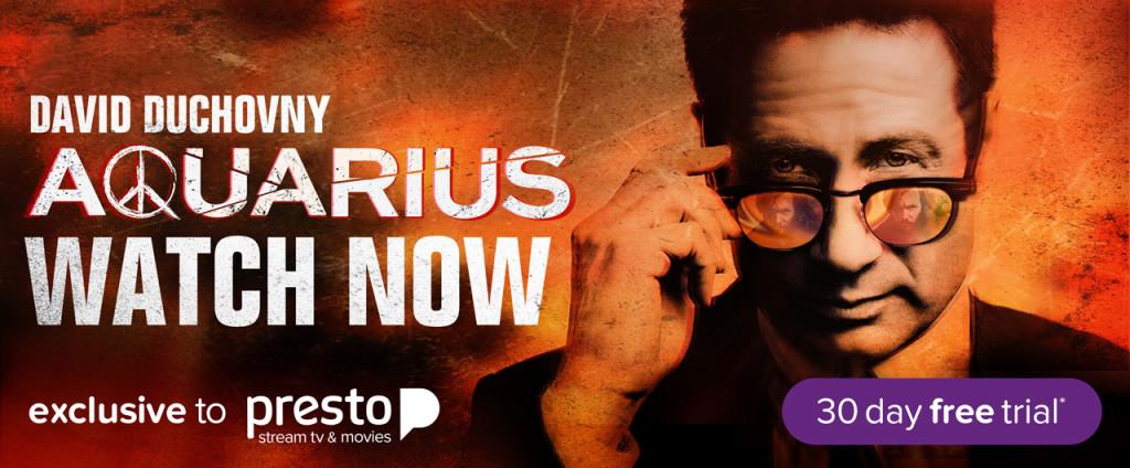 Aquarius Presto homepage
