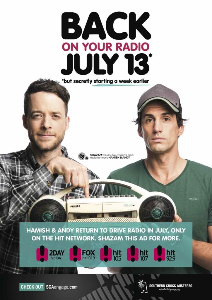 Hamish and Andy July 6