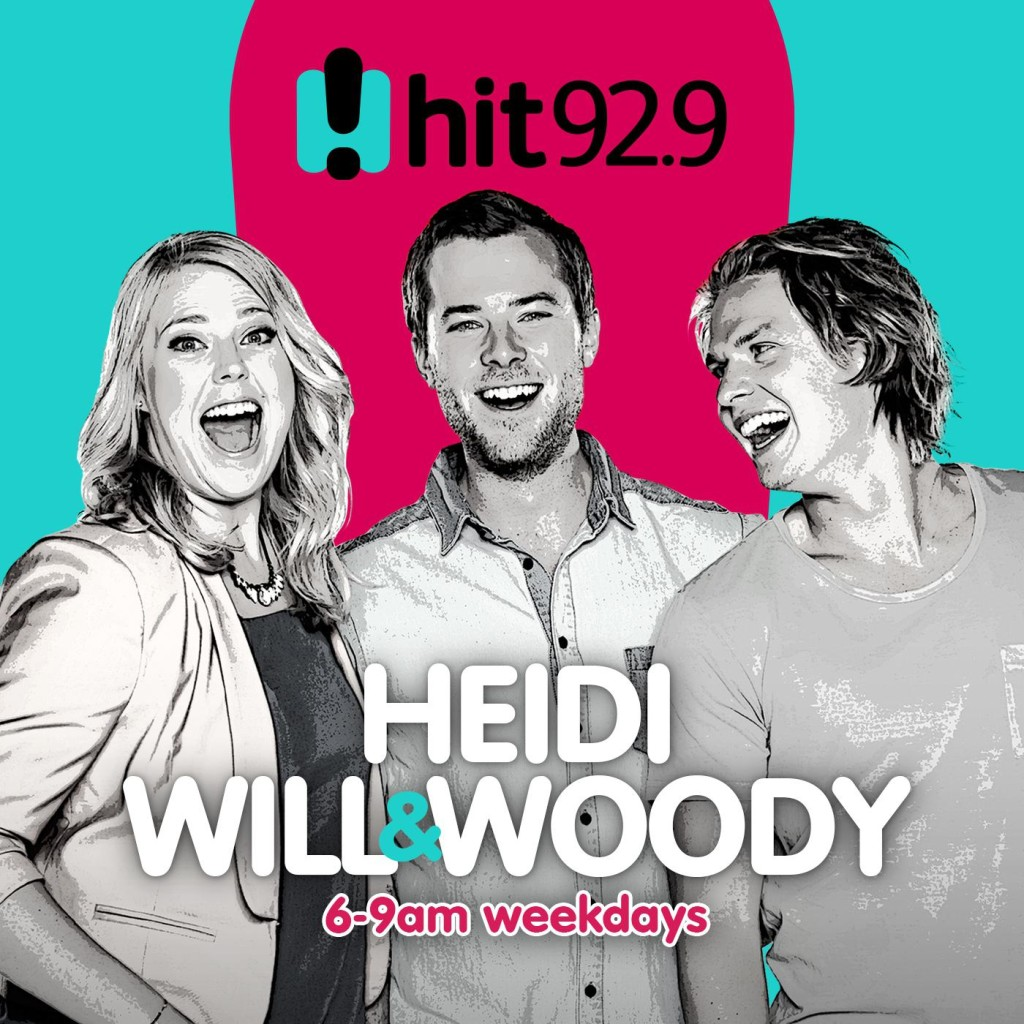 Heidi Will and Woody hit 92.9