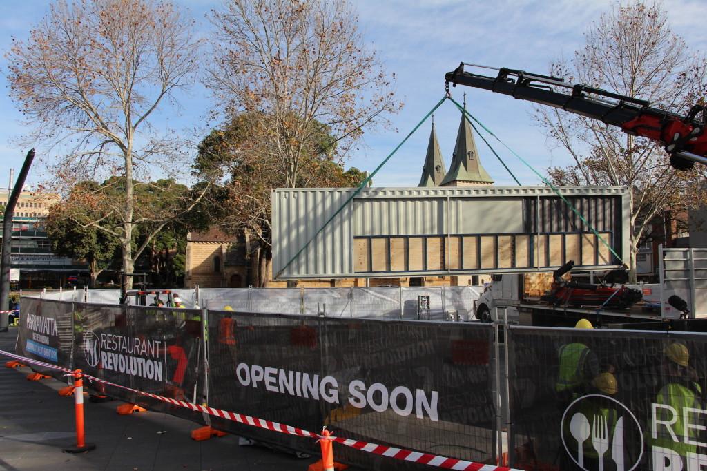 Restaurant Revolution Opening Soon 0887