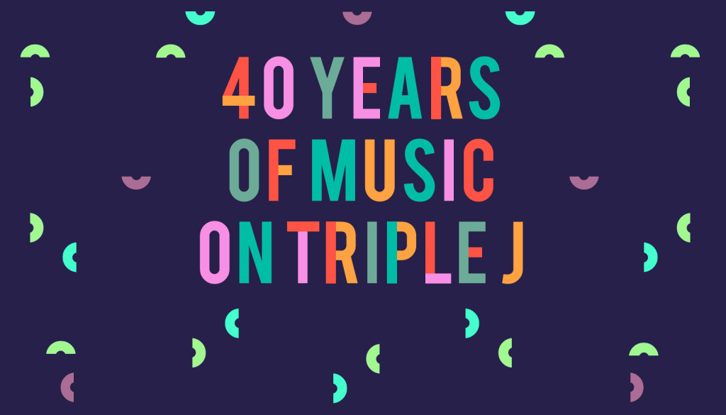 Triple J 40 years of music