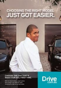 Blake Garvey Drive ad campaign