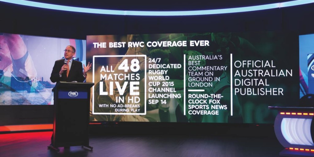 Fox Sports' Rugby World Cup campaign launch - CEO Patrick Delany