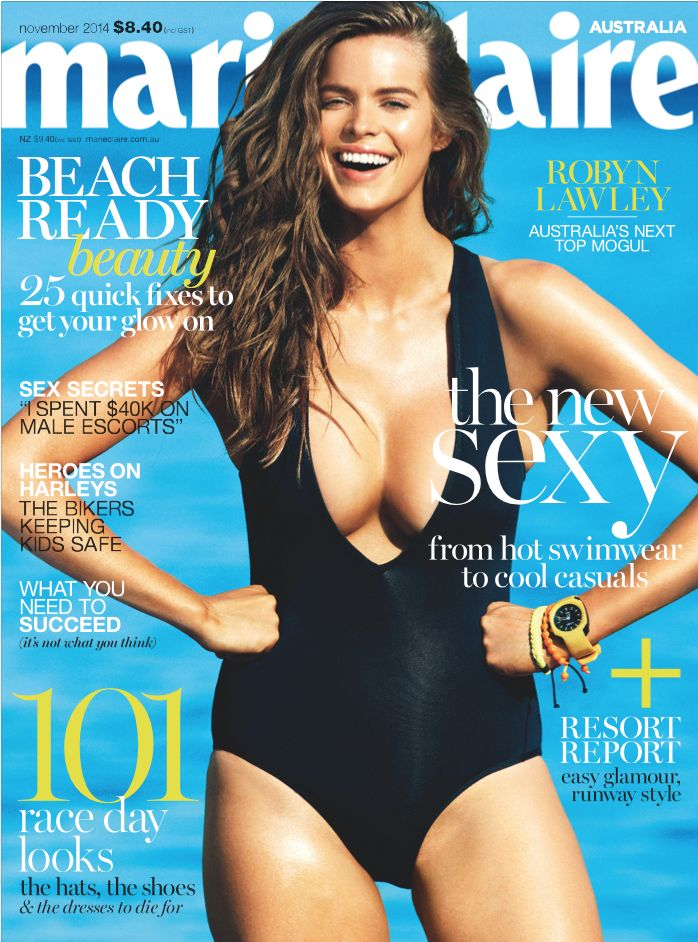 marie claire - Robyn Lawley