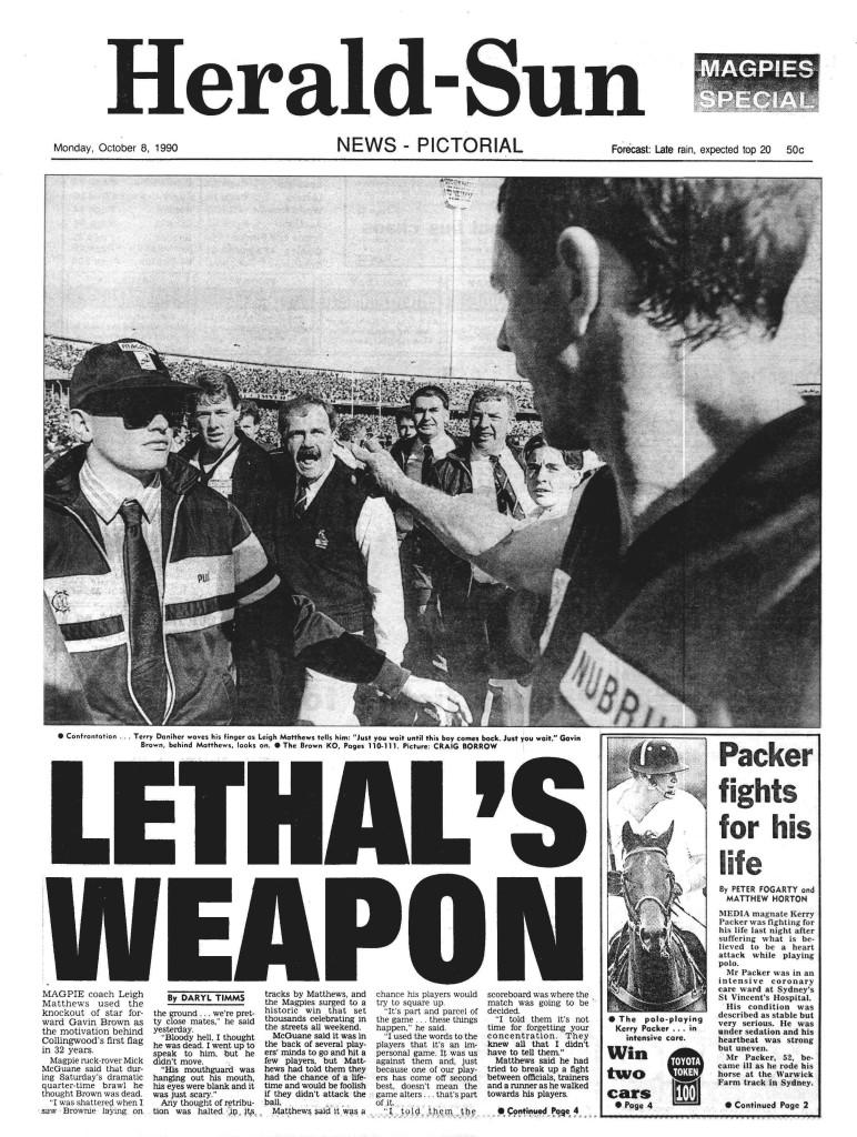 Herald Sun 1990