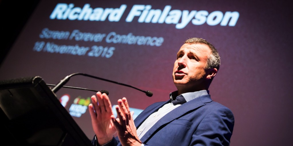 ABC TV's Richard Finlayson