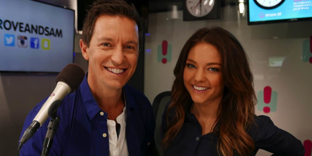 2DayFM's Rove and Sam