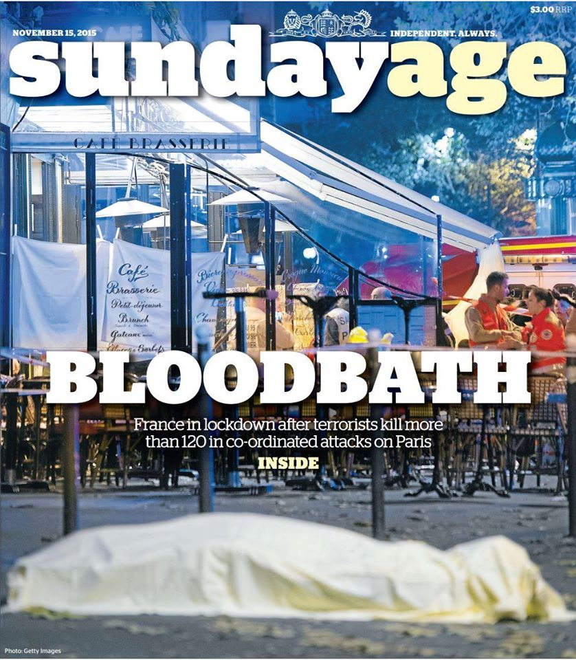Sunday Age 15NOV2015