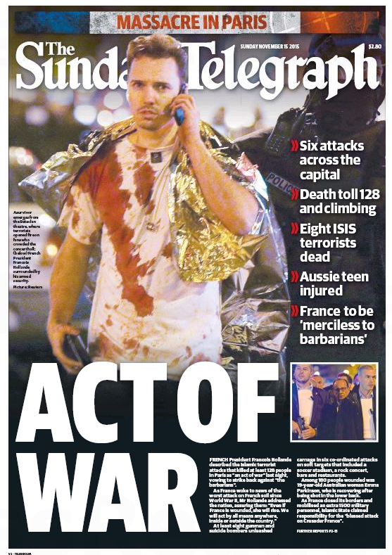Sunday Telegraph 16NOV2015