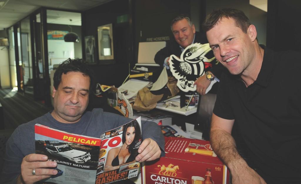 Triple M's Mick, Eddie and Darc