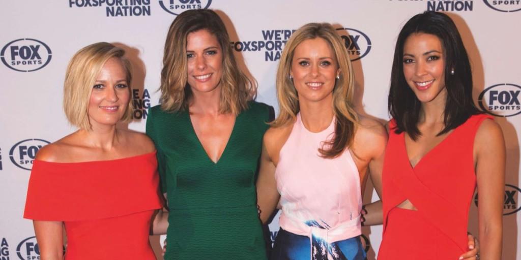 Jess Yates, Lara Pitt, Megan Barnard, Tara Rushton