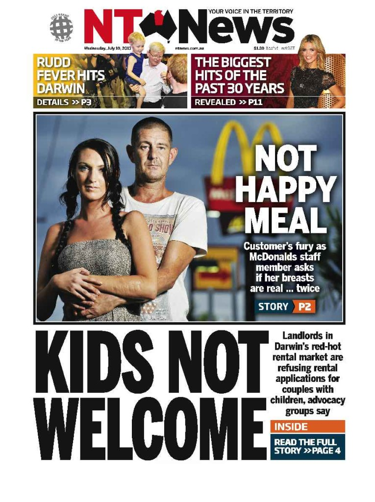 NT News happy meal