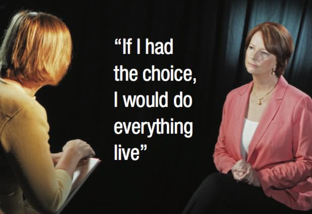 Sarah Ferguson and Julia Gillard with Ferguson quote 1242