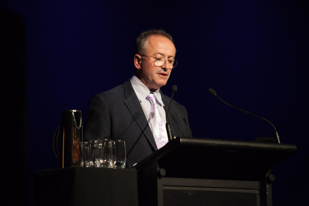 Andrew Denton delivers the Di Gribble Argument in Oct 2015