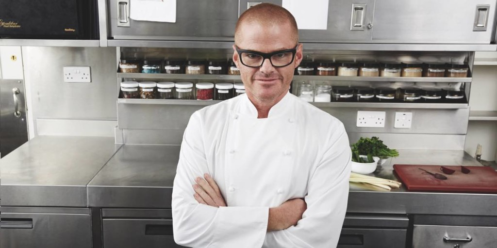 Heston Blumenthal in Inside Heston's World