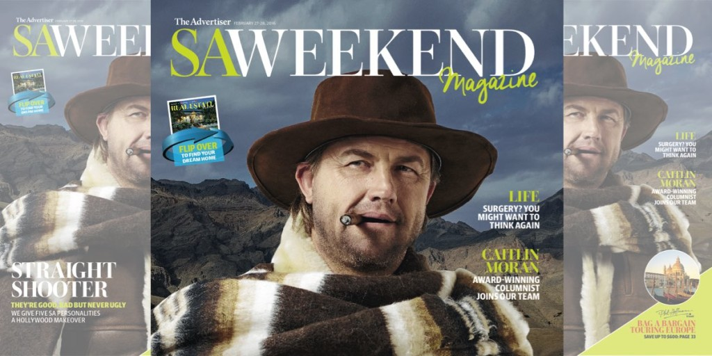 The SAWeekend relaunch cover