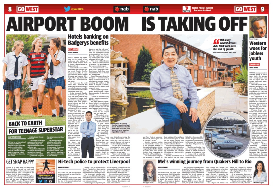 Go West Daily Tele