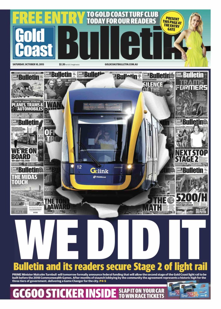 Gold Coast Bulletin_10-10-2015_Main_GoldCoast_p1