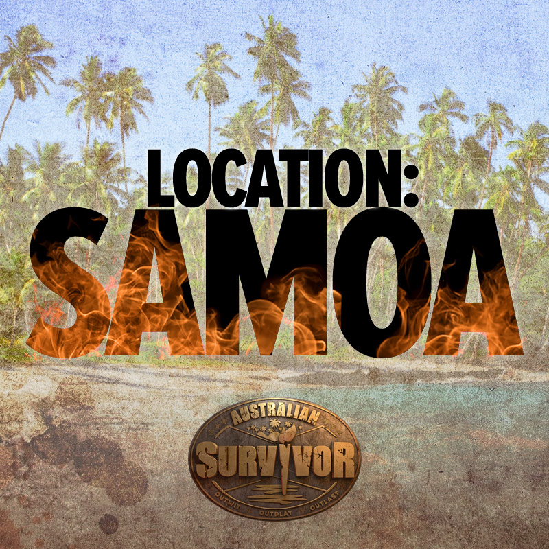 Australian Survivor Location Samoa