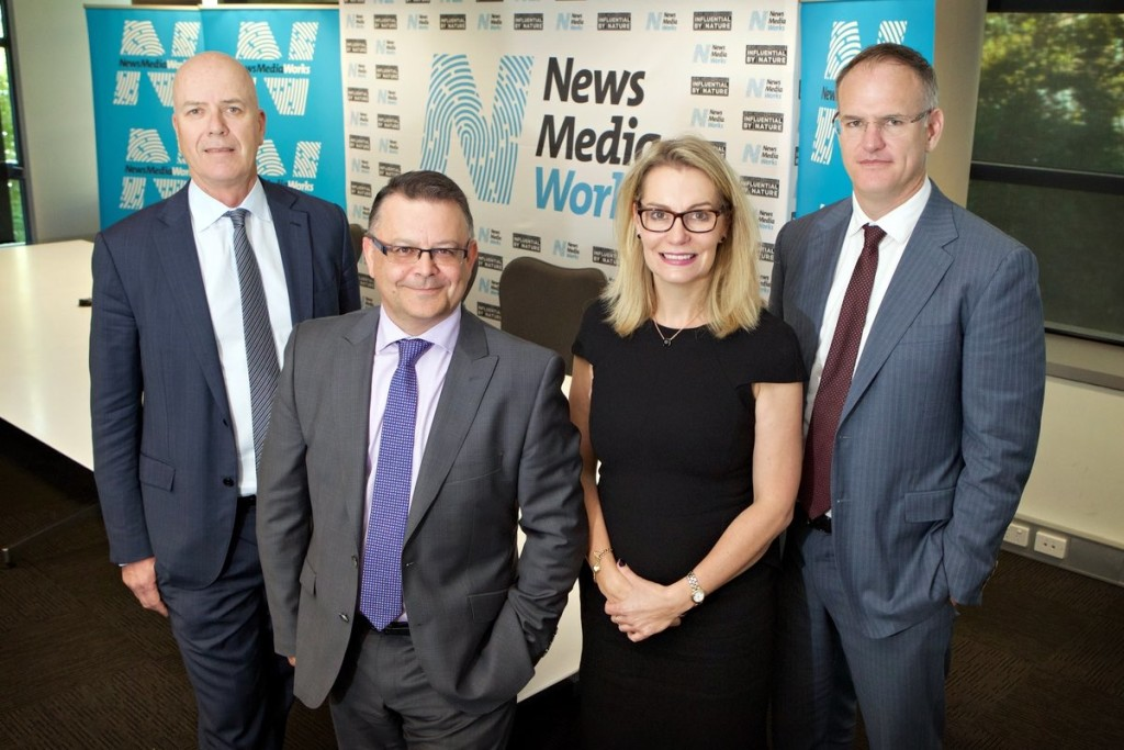 Greg Hywood, Neil Monaghan, Jane Schulze and Michael Miller