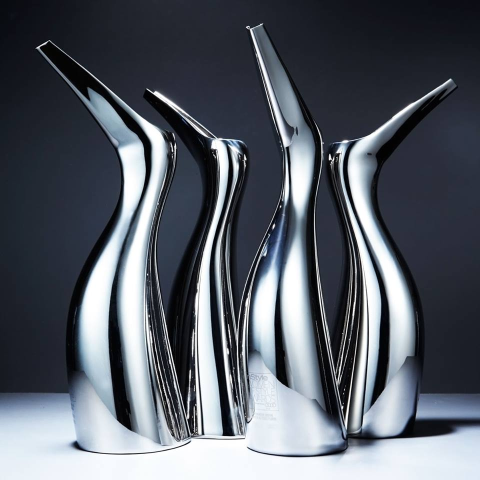 InStyle Women of Style trophies