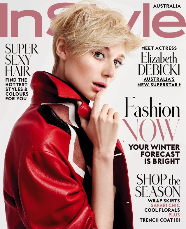 The new look InStyle magazine