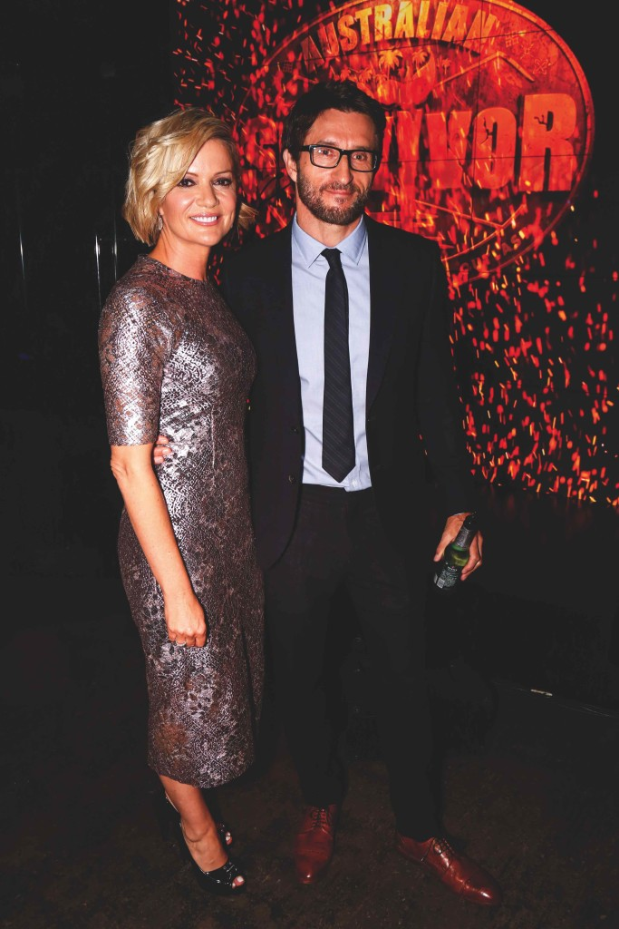 Jonathan LaPaglia and Sandra Sully