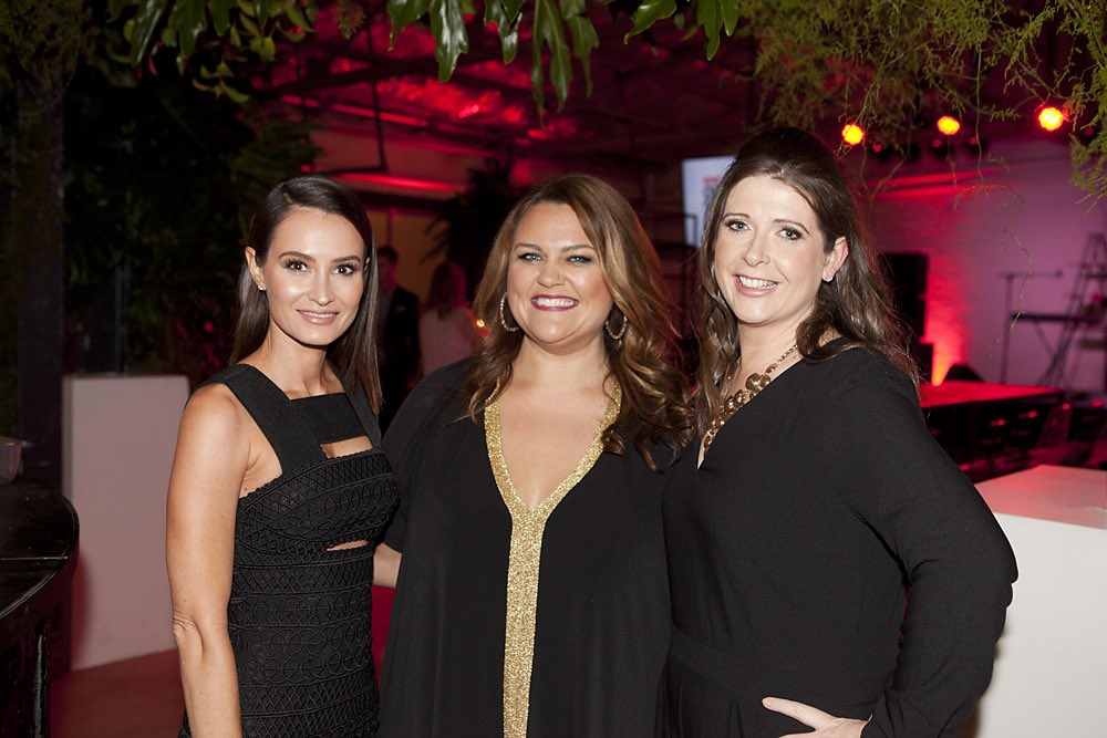 Kylie Brown, Chrissie Swan and NOVA Entertainment COO Louise Higgins