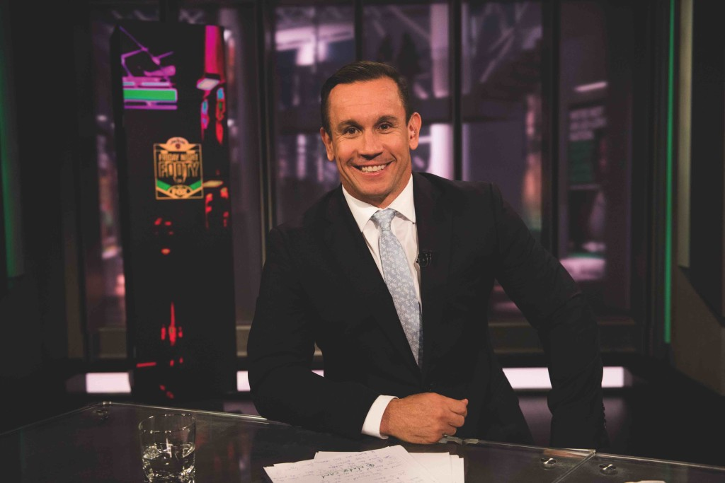 Matty Johns on set
