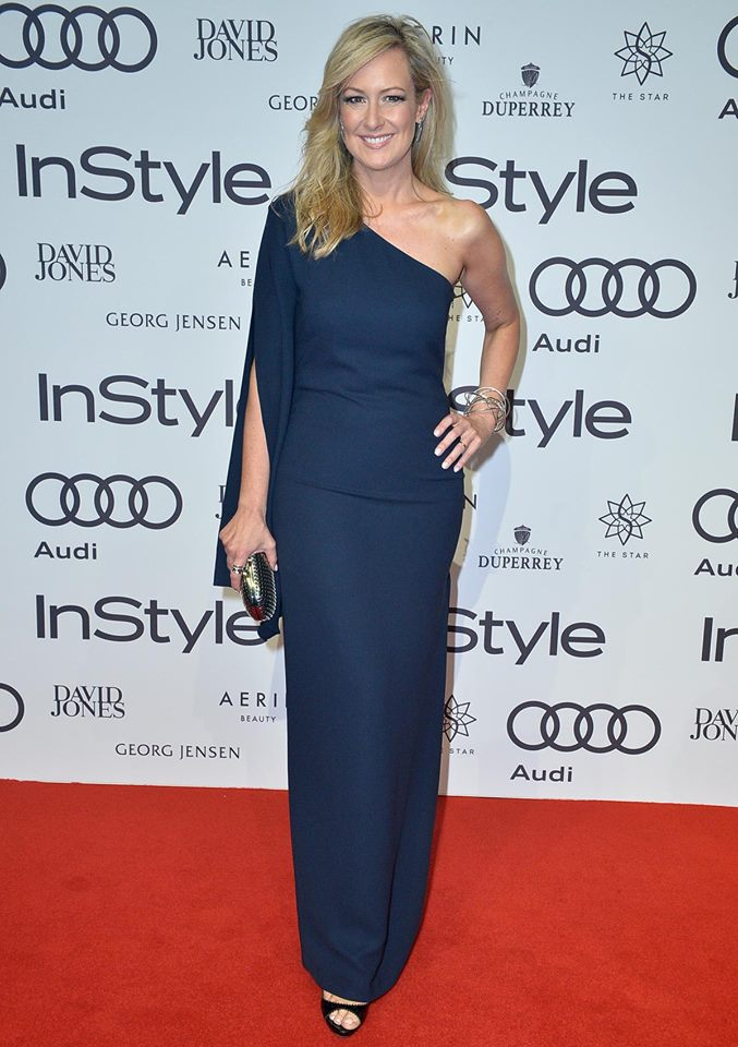 Melissa Doyle at InStyle