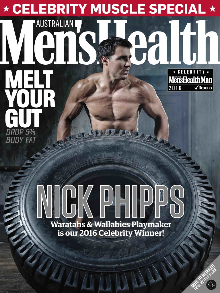 Nick Phipps' Men's Health cover