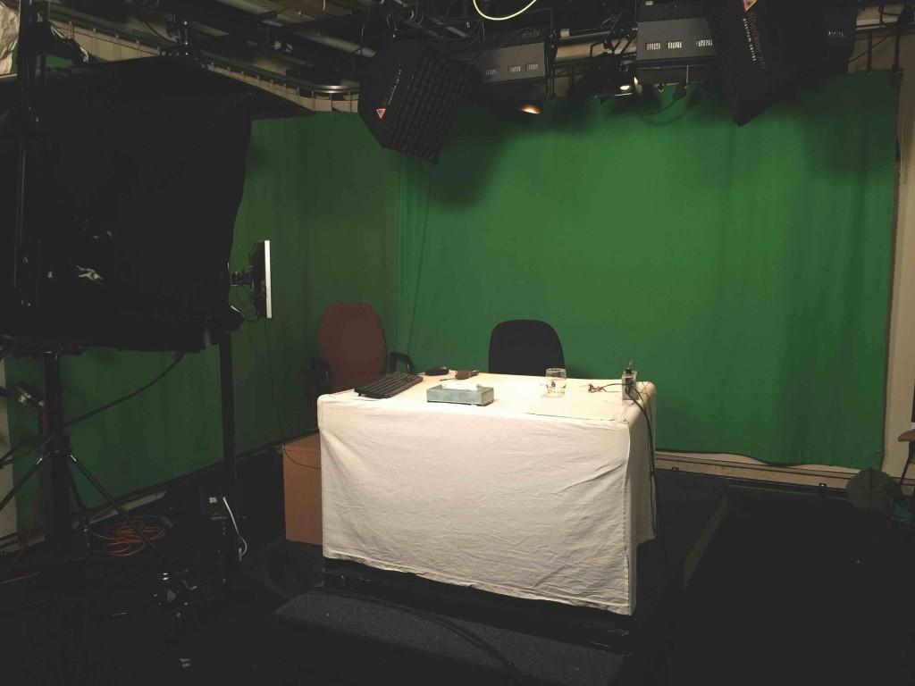 Nine's basic Parliament studio