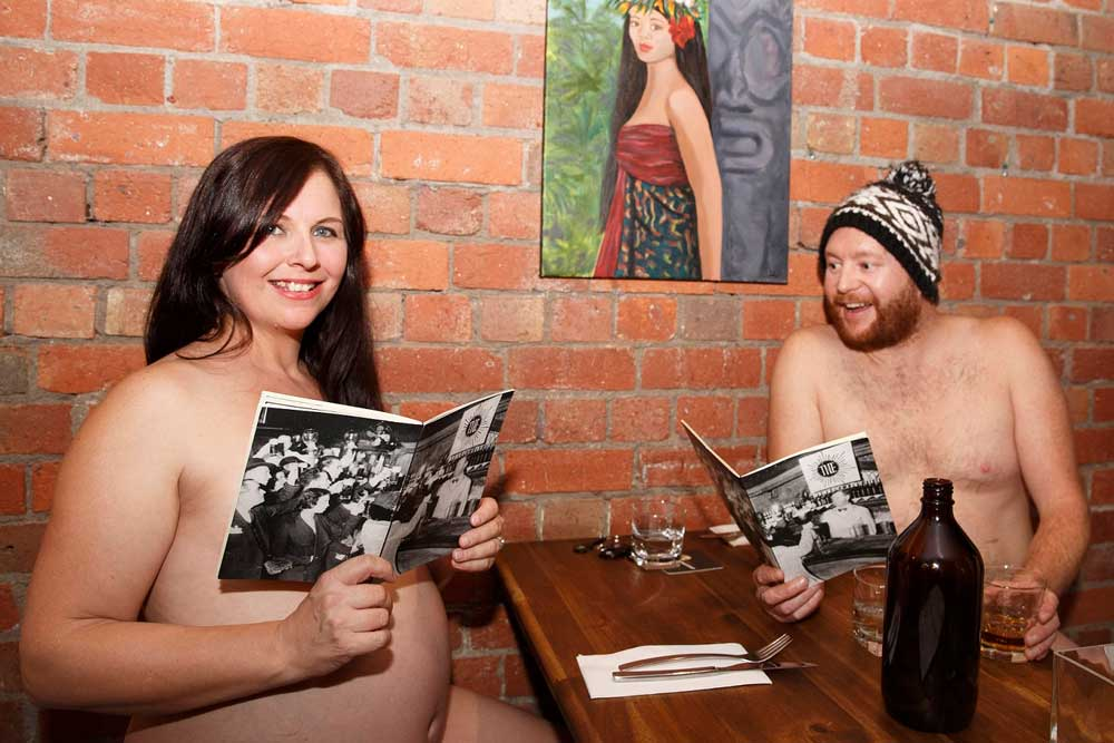 Australias First Naked Restaurant Opens Its Doors For Gold 1043