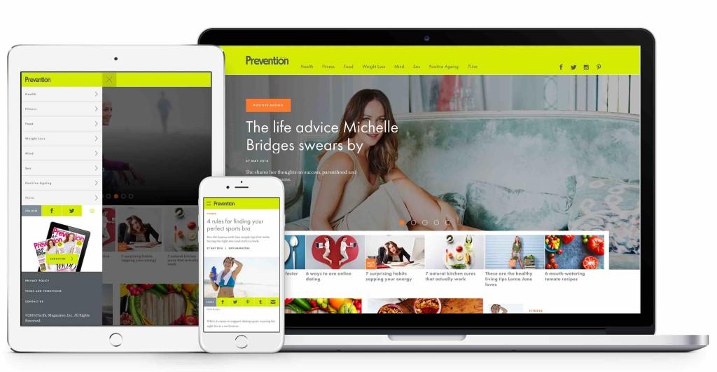 Prevention website