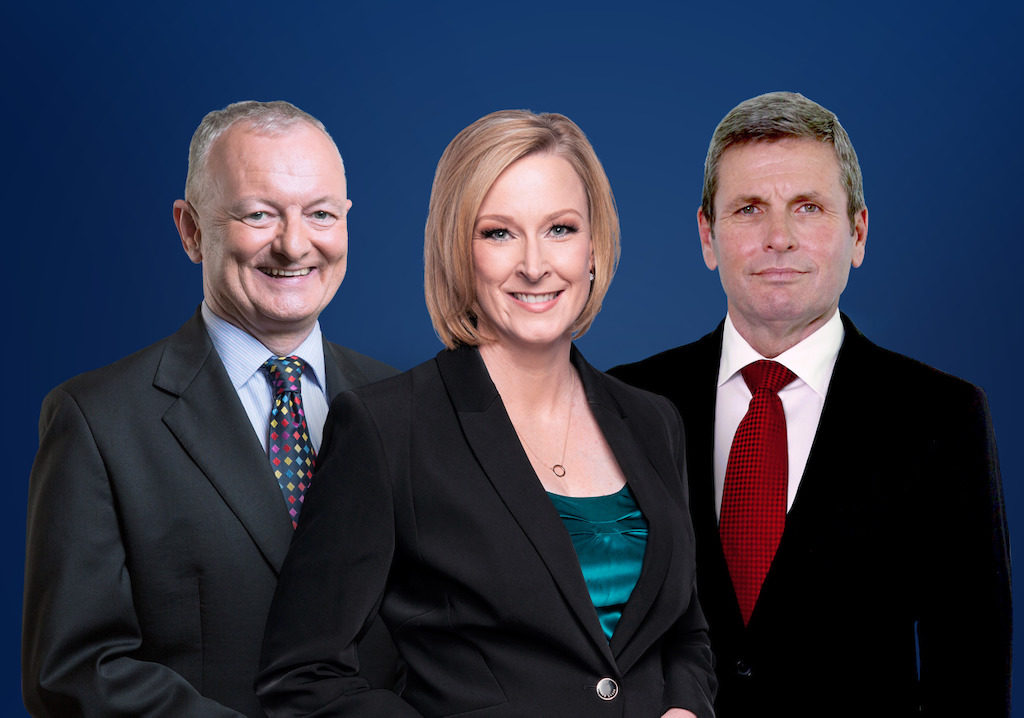 Antony Green, Leigh Sales and Chris