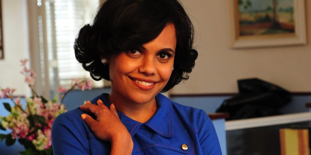 Actor Miranda Tapsell from Love Child