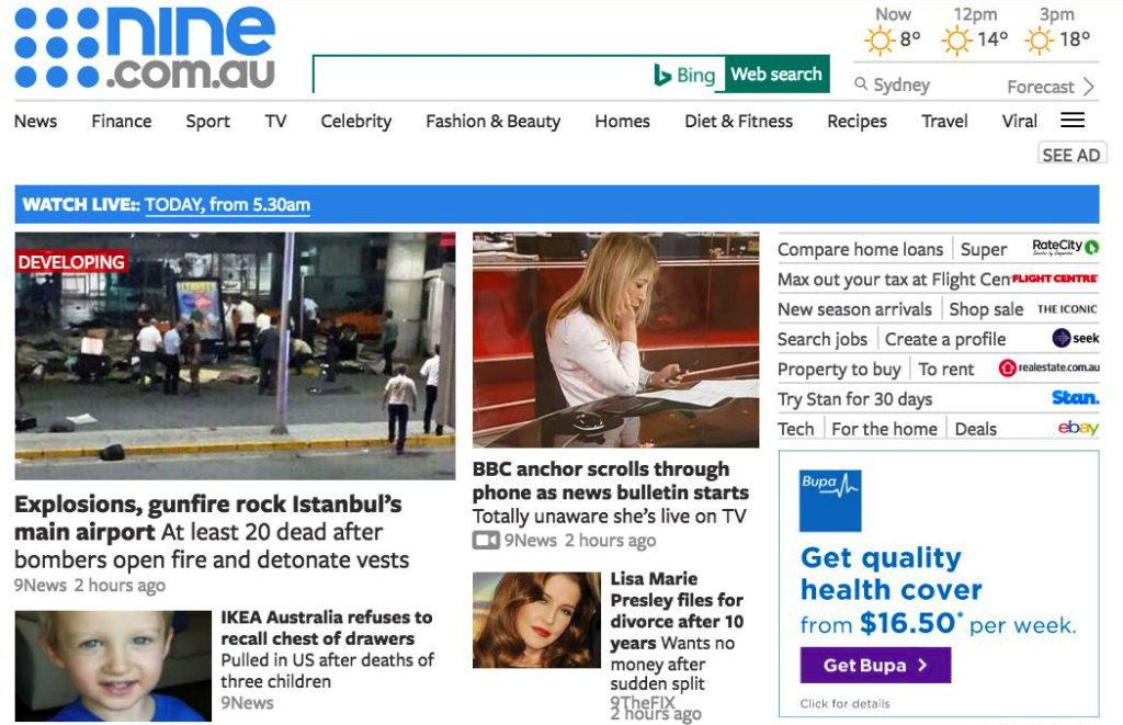 New nine.com.au