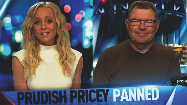 The Project's Carrie Bickmore clashes with Steve Price