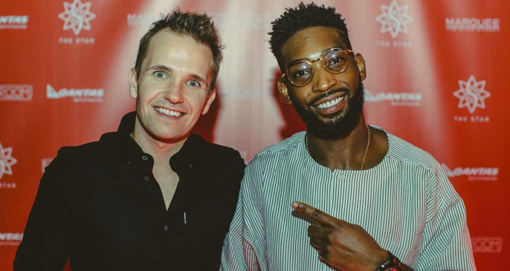 "Smallzy's Surgery host Kent ""Smallzy"" Small with Tinie Tempah"