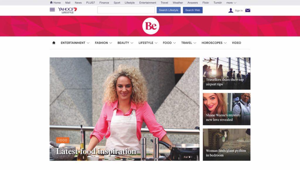 Be Homepage