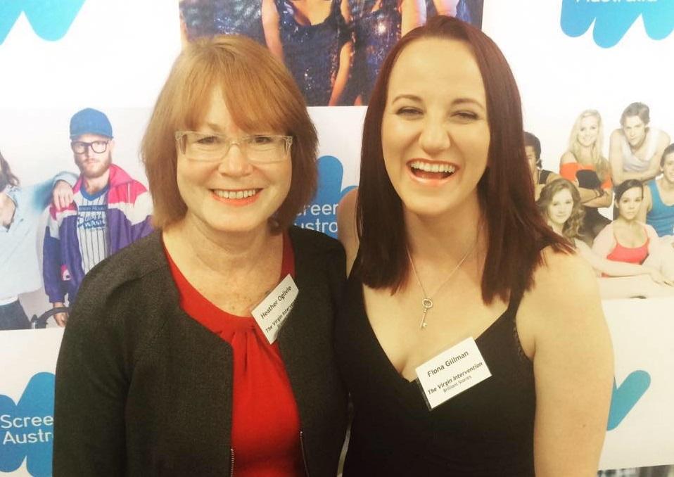 Heather Ogilvie and Fiona Gillman