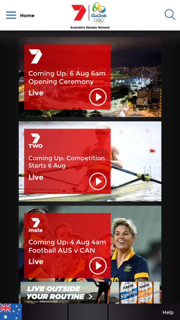 Olympics-on-7-app