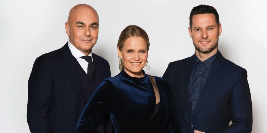 Judges Neale Whitaker, Shaynna Blaze and Darren Palmer
