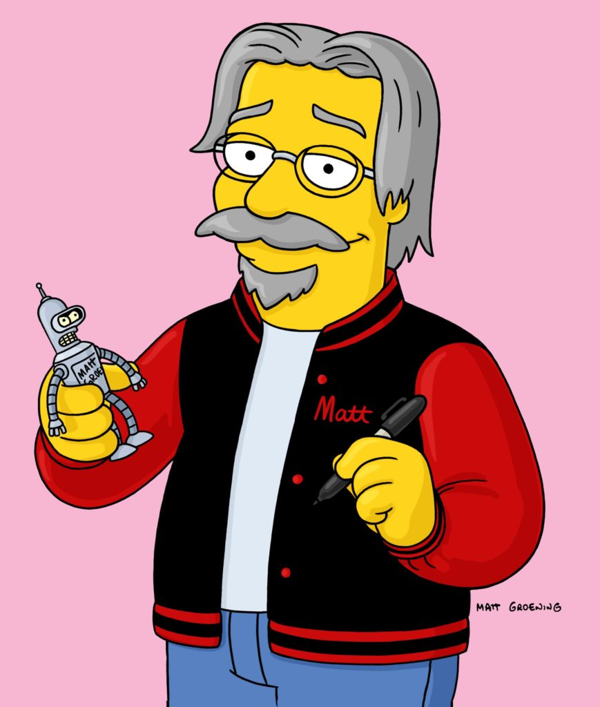 Animated picture of Matt Groening